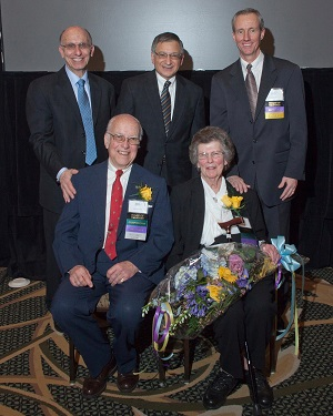 William (Bill) and Nancy Gannett, of Hopedale, were honored recently at MRMC's annual meeting as the Board of Trustees' first Trustee Emeriti.