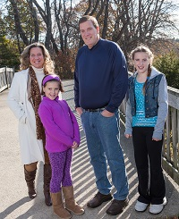 David Eckbold and family, weight loss surgery patient