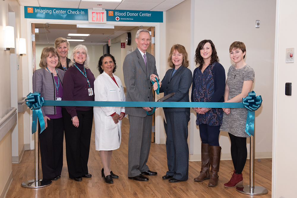 Blood Donor Center Ribbon Cutting