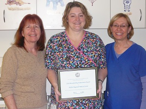 Lactation Consultants receive award