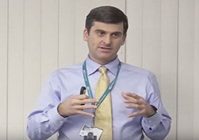 Dr. Dietz, hand surgeon, lecture video