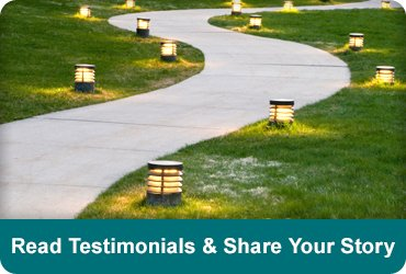 Read testimonials and share your story