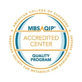 Bariatric Surgery Accredited Center Seal