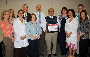 Milford Regional Receives Third Gold Stroke Award