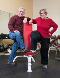 Donna and Bill underwent successful knee replacement surgery