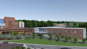 Milford Regional Medical Center officially unveiled a $25 million fundraising goal to help support a $54 million building project that will significantly expand the areas of ED, ICU and private patient rooms.