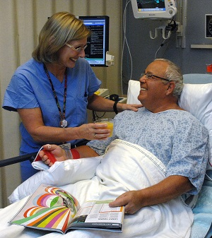When Angelo Biagetti, 69, of Milford, was told he needed to undergo a cardiac catheterization—, he was anxious. However, he knew the procedure was necessary to identify the cause of his ongoing chest pain.
