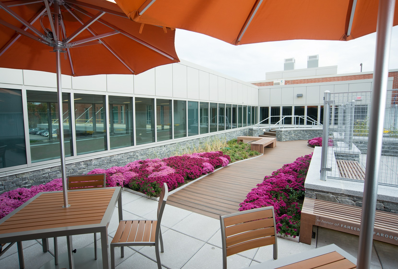 tranquility rooftop garden