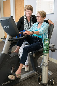 pulmonary rehab patient